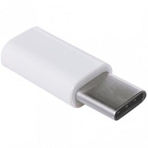 Retailproduct: Micro-USB naar USB-c adapter wit